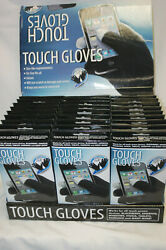 Texting Touch Gloves For Resale W/ Display Lot Of 35 Pairs Unisex One Size S4179