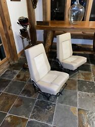 Mooney Front Seats Both Pilot And Co-pilot M20c M20e Early 60s Chrome Moly Frame