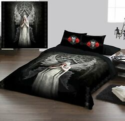 Anne Stokes - Only Love Remains - Duvet And Pillows Covers Set Uk King Us Queen
