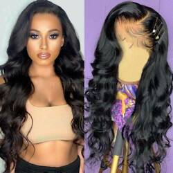 Clearance Wavy Silk Top Full Lace Wig Virgin Indian Human Hair Lace Front Wig Zw