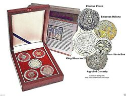 Search For The True Cross 5 Coin Boxed Set Of Five Figures Who Held The Cross