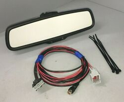 2006-19 Ford Lincoln Mercury Backup Camera Mirror And Adapter Harness Upgrade Kit