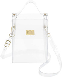MINICAT Clear Small Crossbody Bags Stadium Approved Cell Phone Purse Wallet For $26.99