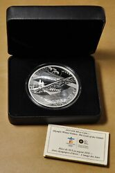 2010 Canada 50 .999 Silver 5oz Coin Winter Olympics Look Of The Games