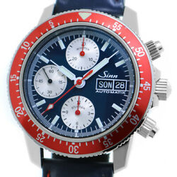 Free Shipping Pre-owned Sinn 103.st.sa.rb German Limited Model Watch