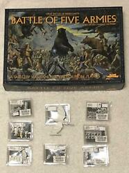 Lotr Lord Of The Rings Battle Of The Five 5 Armies Games Workshop Gw Unpunched