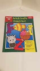 Arts And Crafts From A To Z Prek-k By The Mailbox Books Staff 2008, Book, Ot…