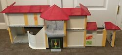 Playmobil School Building 4324 Cafeteria And Gym - Not Complete - As Pictured