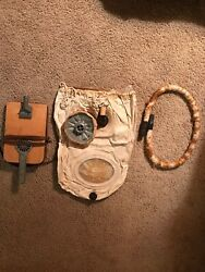 Very Rare Wwii German Infinite Gas Mask. And In Excellent Condition