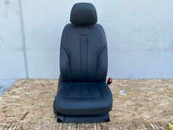 2014-2018 Bmw X5 X5m Front Right Complete Seat Chair Cushion Black Oem F15