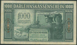 Kowno 1000 Mark 1918 Ost Banknote Lithuania Poland S/n A-1909425