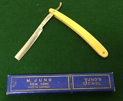 Vintage Wm Elliot And Co Straight Razor - No 21 - Made In Germany
