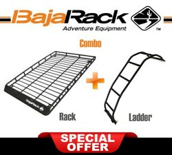 Bajarack Combo Long Standard Basket Rack And Ladder For Toyota 2003-2009 4runner