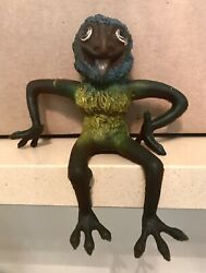 Scarce 1969 Russ Berrie Oily Jiggler Grease Trap Gregory Rubber Monster