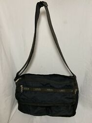 Lesportsac Black Messenger Purse $15.00