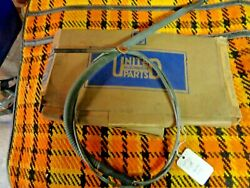 Nos United Auto Parts 91215 Emergency Brake Cable 1937 1938 Ford