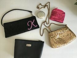Lot of Small purses handbags evening bags coin purse beaded bag metal mesh. $14.00