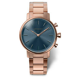 Kronaby Carat S2445-1 Rose-gold Stainless-steel Automatic Self Wind Smart Watch