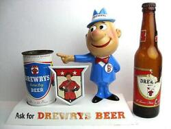Limited 1950 Andrsquos Drewrys Big D Vintage Store Display Beer Toy