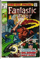 Fantastic Four Annual And Special Lot 8 Marvel Comics 7 13 16 19 22 23 25 26