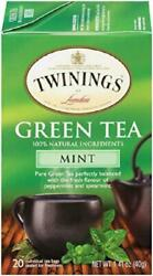 Twinings Of London Mint Green Tea 20 Count Pack Of 6