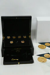 Macquarie Mint Gold Coins Of Europe Collection 6 Of 7 In Case