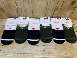 Lot Of 6 Arvin Goods The No Show Sock 8-12