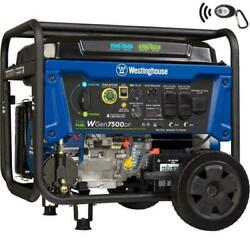 Westinghouse 9500-w Portable Dual Fuel Gas Powered Generator With Remote Start