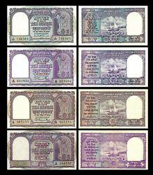 India - 2x 10 10 10 10 Rupees - Issue Nd 1949 - 1970 Reproduction - 07 - 10