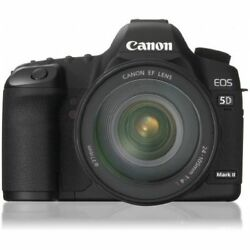 Near Mint Canon Eos 5d Mark Ii With Ef 24-105mm F/4 L Is Usm - 1 Year Warranty