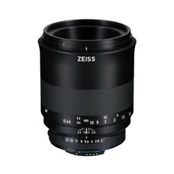 Near Mint Carl Zeiss Milvus 100mm F2 M Zf.2 For Nikon F - 1 Year Warranty