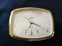 Vintage Linden Alarm Clock Face Only No Case For Repair/parts Free Shipping