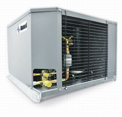 New Russell 1.25 Hp Outdoor Condensing Unit 208/230/3ph Rfh125e4s-e Ext.med.temp