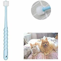 360 Degree Pet Toothbrush For Puppy Small Dog And Cat Colors May Vary Supplies