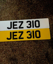 Private Number Plates Dateless ⚡️jez 310⚡️