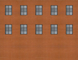 Background Building Kit For O Scale Model Train Layout - Make Custom Backgrounds
