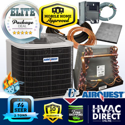 2 Ton 14 Seer Airquest-heil By Carrier Mobile Home Hp+coil System Line Set Kit