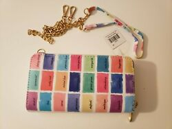 *NEW* CROSSBODY WALLET LEATHER NWT $7.99