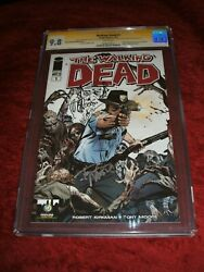 Walking Dead 1 Wizard World Portland Cgc 9.8 Signed And Sketch X 3