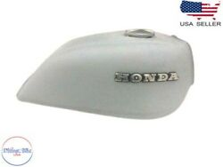 Honda Cb750 Cb 750 Raw Petrol Tank With Badges And Cap 1978and039s |fit For