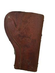 Jimmy Stewart Hand Signed Autographed Leather Holster One Of A Kind Coa