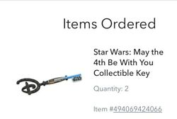 Star Wars May The Fourth Be With You Collectible Key Confirmed Order Sold Out