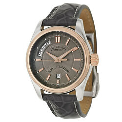 Armand Nicolet, M02, Swiss Made Watch, 18k Rose Gold And Stainless Steel