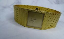 18K YELLOW GOLD PIAGET WATCH
