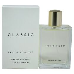 Unisex BR Classic by Banana Republic 3.4 oz EDT SPRAY NEW IN BOX NOT 4.2 $18.50