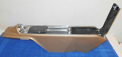1965 1966 1967 Buick Wildcat Deluxe Custom Coupe Convert Orig A/t Center Console
