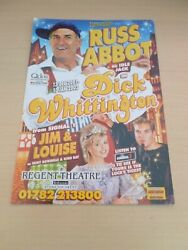 Russ Abbot Jim And Louise Signal 1 Dick Whittington Stoke Pantomime Flyer 2001