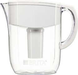 Brita 10c Everyday (BPA Free) Water Pitcher Acrylic 1 Filter White Great Tasting