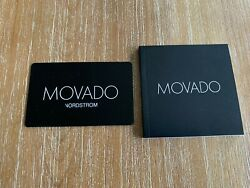 New Movado Watch Booklet Operating Instructions Manual And Warranty Card