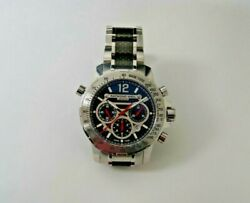 Raymond Weil Chronograph Nabucco Stainless Steel And Carbon Fiber 46mm Watch